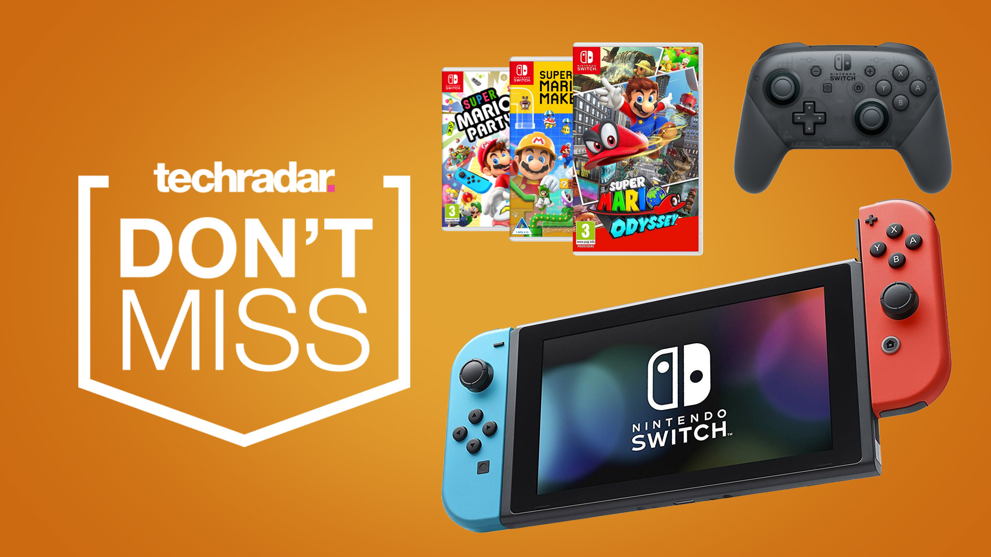 Nintendo Switch Deals Continue Into The Weekend With Fantastic Savings On Bundles Controllers And Games Techradar