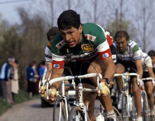 Francesco Moser at the 1979 Paris-Roubaix