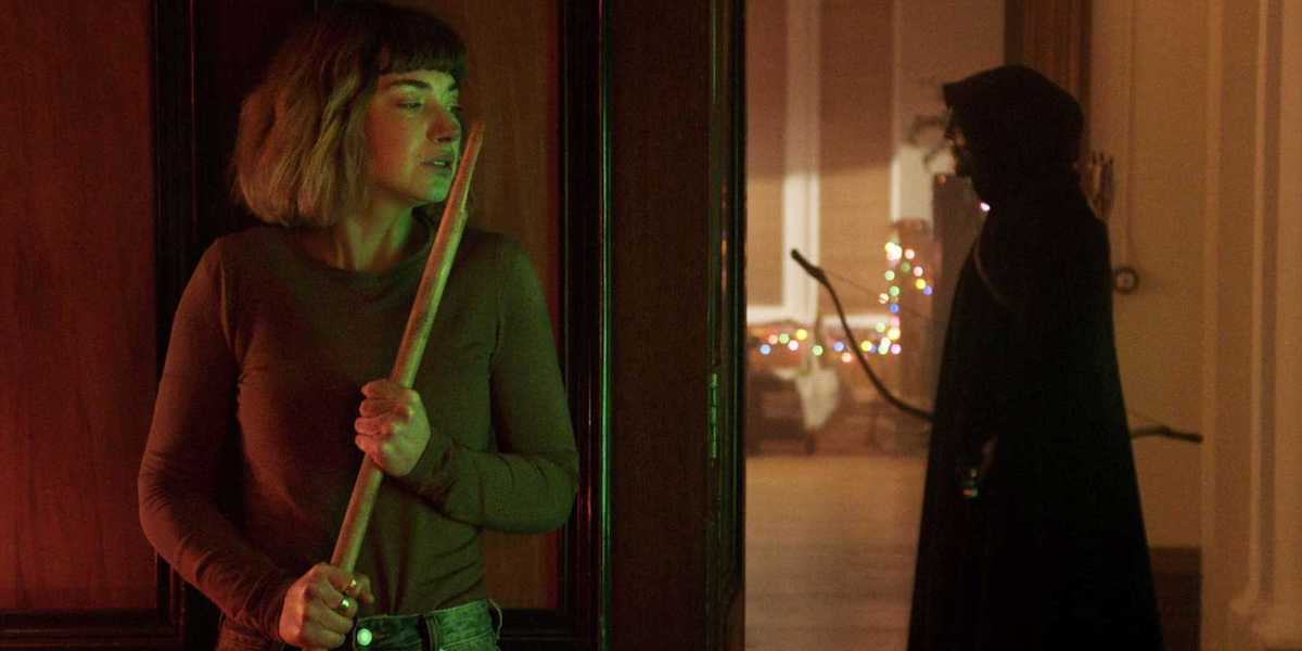Imogen Poots as Riley in Black Christmas