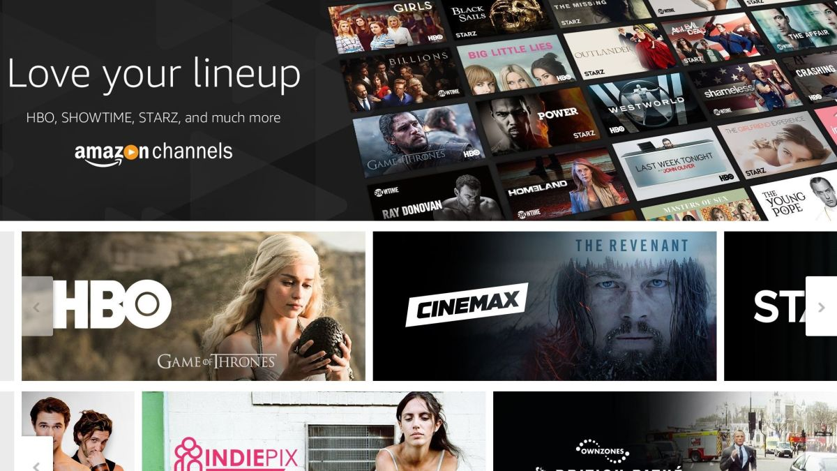 Amazon Channels: how to subscribe to HBO Go, Showtime and Starz