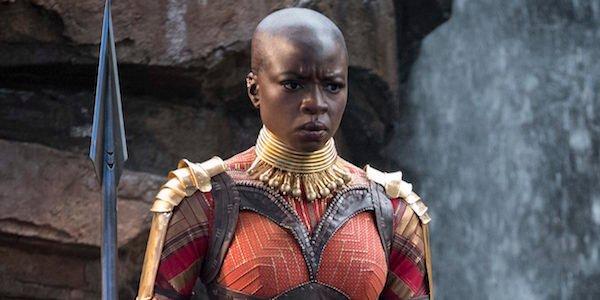 Danai Gurira as Okoye in Black Panther