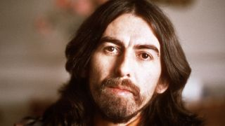 A picture of late Beatles star George Harrison