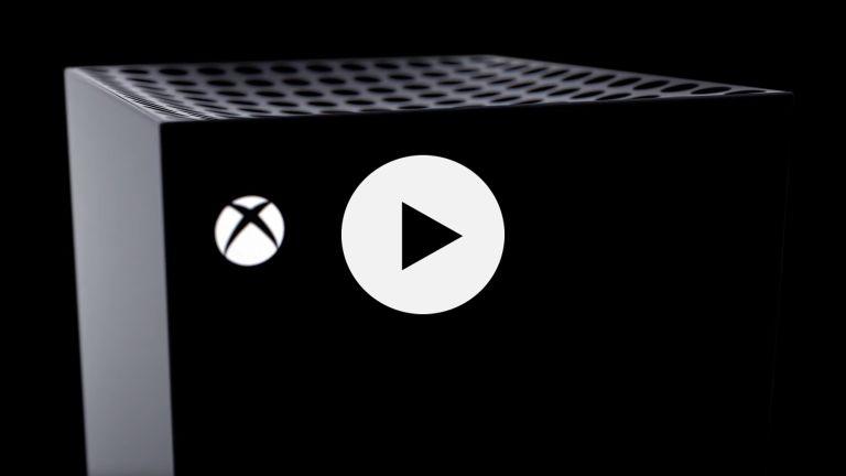 Microsoft Xbox Series X video trailer