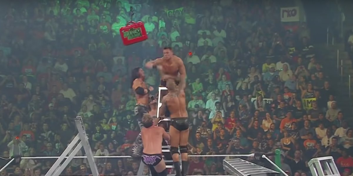 The 2010 Raw Money In The Bank Ladder Match