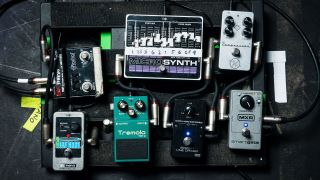 In pictures: 68 pro guitarists' pedalboards