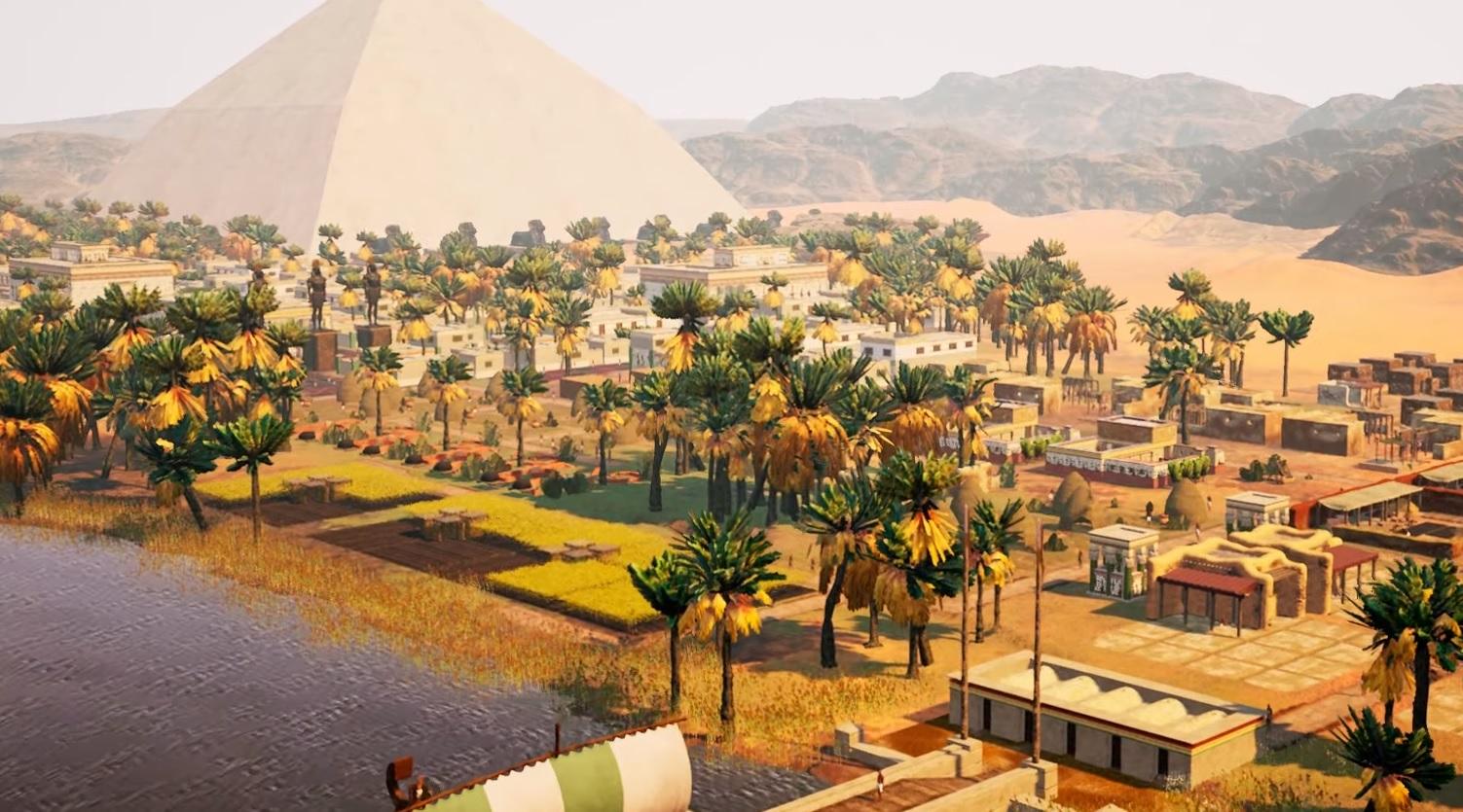 Builders of Egypt looks like a modern Pharaoh | PC Gamer
