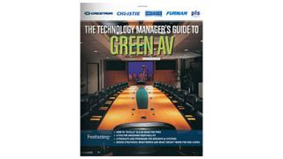 The Technology Manager's Guide to Green AV