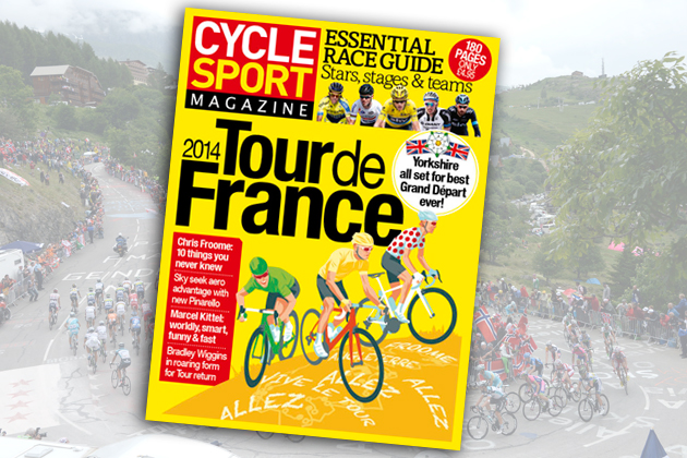 cycle sport summer 2014 cover image