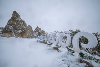 Snow forced the cancellation of the opening stage of the Presidential Tour of Turkey