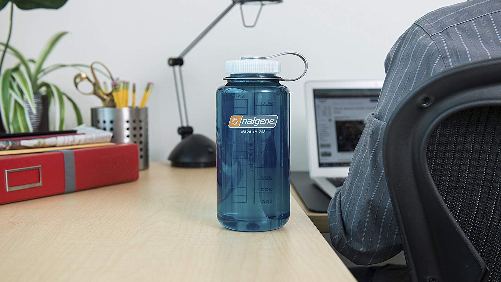 best water bottles: Nalgene water bottle