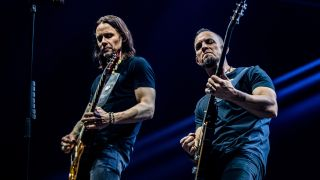 Myles Kennedy and Mark Tremonti of Alter Bridge