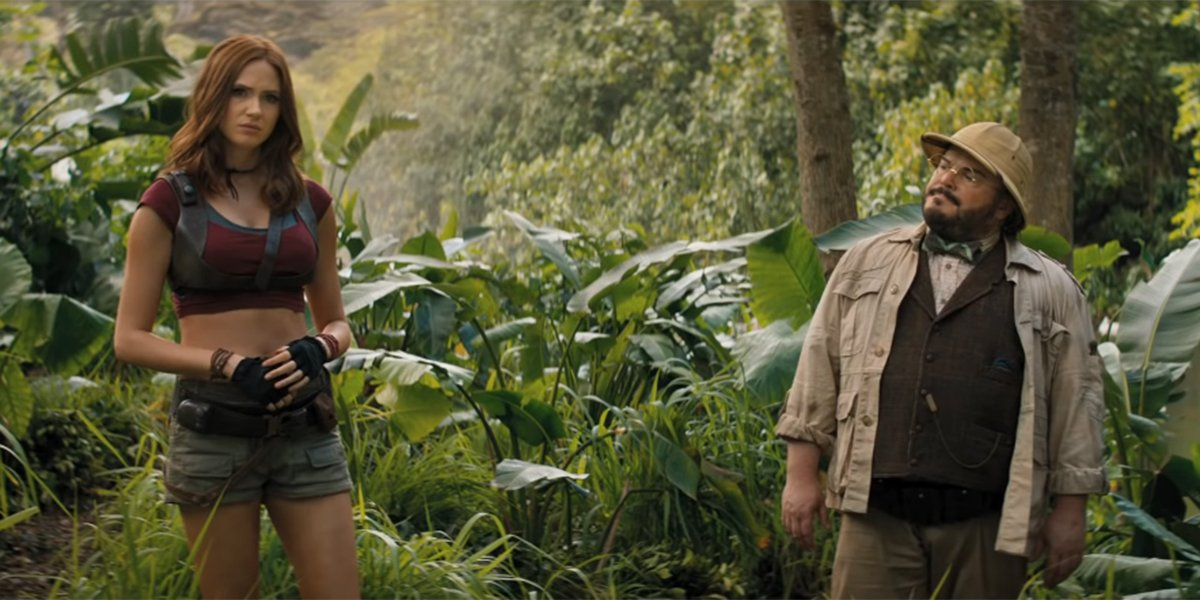 Ruby Roundhouse and Shelly Oberon in the jungles of Jumanji