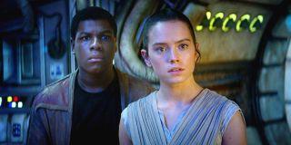 John Boyega and Daisy Ridley Star Wars