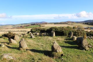 Archaeologists thought this stone circle in Scotland's Aberdeenshire was more than 3,500 years old. But it is now known to have been built by a farmer in the 1990s.