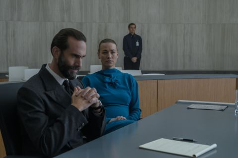 Serena and Fred Waterford in The Handmaid's Tale Testimony