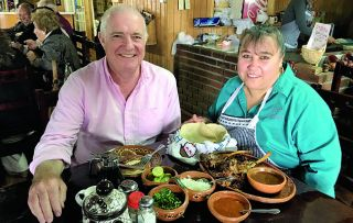 Rick Stein is waving goodbye to California and heading for the Mexican border – but before leaving the States he has to do one last thing: eat a proper diner breakfast.