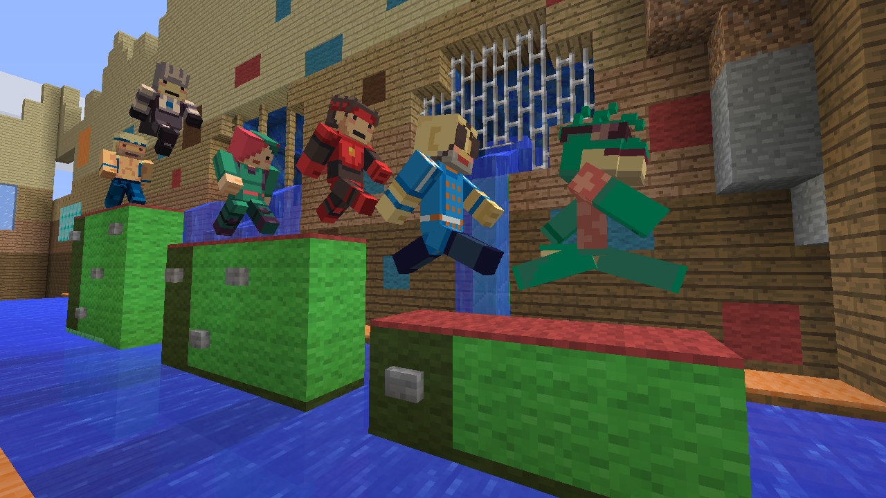 Minecraft Xbox Skin Pack Includes Dragon Age Mirrors Edge - Skins para minecraft 1 8 8