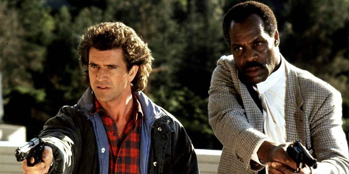 Riggs and Murtagh in Lethal Weapon