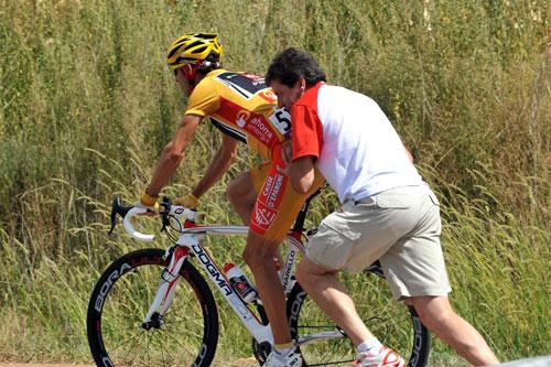 Alejandro Valverde, Vuelta a Espana 2009, stage 17