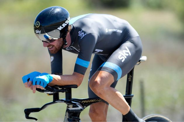 Bradley Wiggins, Stage 2 time trial in Folsom, CA
