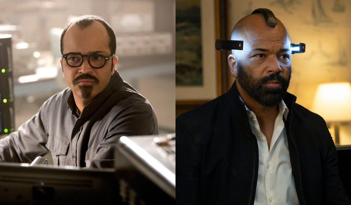 Jeffrey Wright in Catching Fire and Westworld