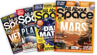 All About Space magazine covers