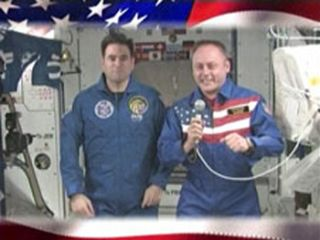 Astronauts to Vote From Space Station