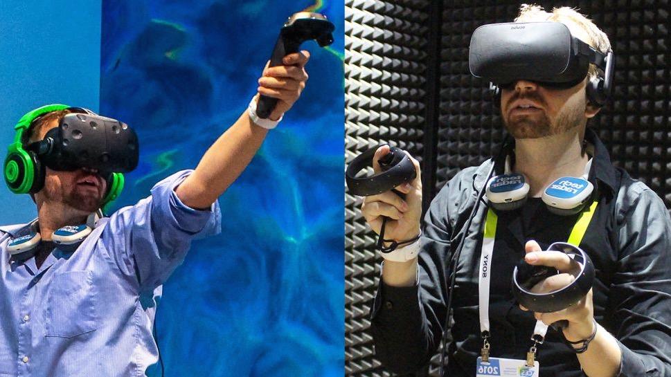 HTC Vive vs Oculus Rift: which VR headset is better? | TechRadar