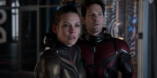 ant-man and the wasp Evangeline Lilly paul rudd hope van dyne scott lang