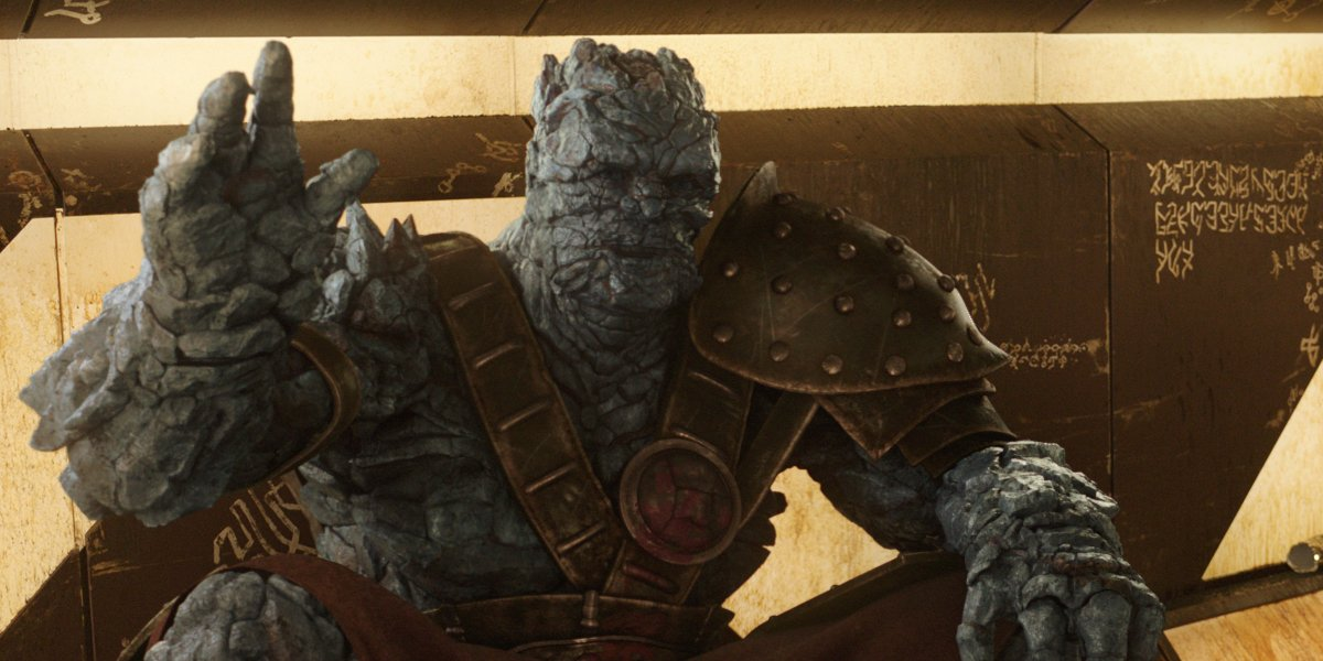 Taika Waititi's Korg in Thor: Ragnarok