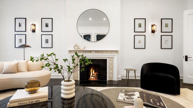 Living room in Eleanor Roosevelt' home