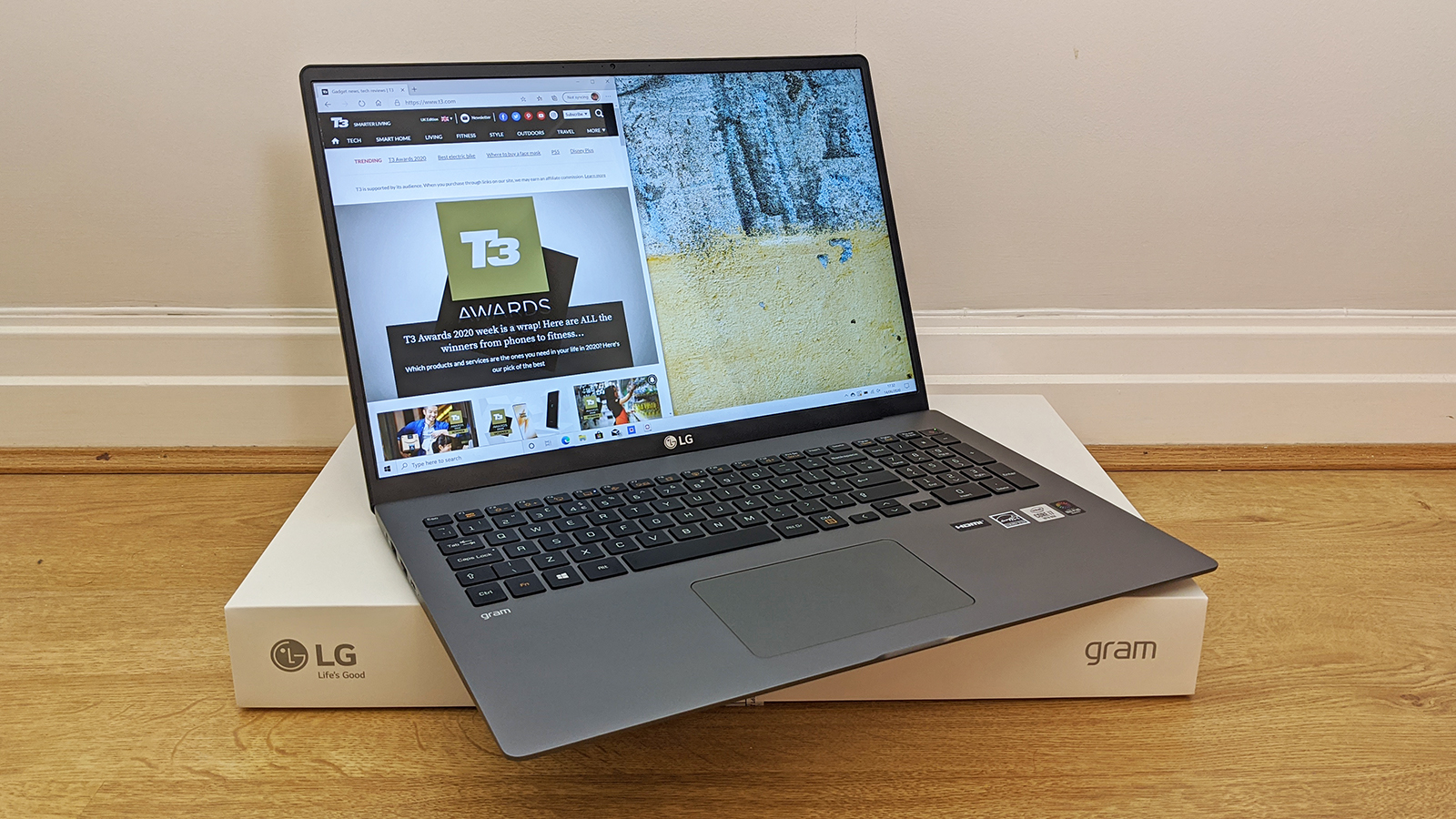LG Gram 17 (2020) review: huge screen, thin chassis, impressive laptop | T3