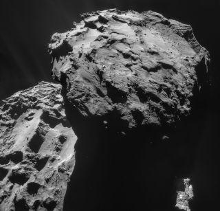 Comet 67P on Dec. 7, 2014