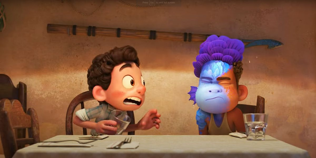 Luca: 5 Disney & Pixar Easter Eggs And References In The Movie