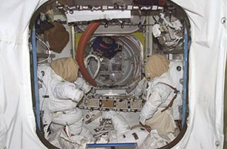 Heading Out: ISS Astronauts to Make Spacewalk Today