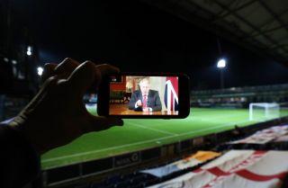 Boris Johnson, EFL Football league