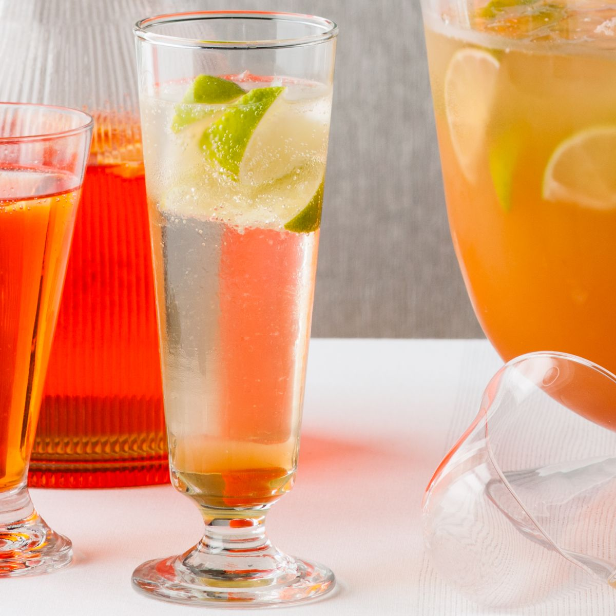 Enjoy a sophisticated cocktail with this gorgeous G&Tea cocktail twist