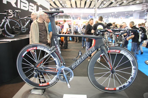 Ribble Ultra TT prototype, Cycle Show 2010, Friday