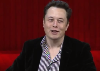 Elon Musk at the Massachusetts Institute of Technology's AeroAstro 100 conference on Oct. 24, 2014.