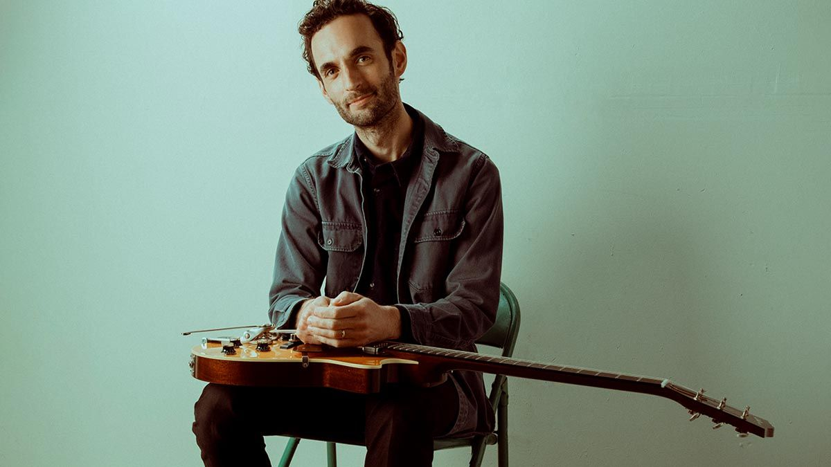 """Julian Lage: """"I bought a stethoscope and taped it to the back of the Telecaster. I could only handle it for about a day and thought, 'This is abusive!'"""""""