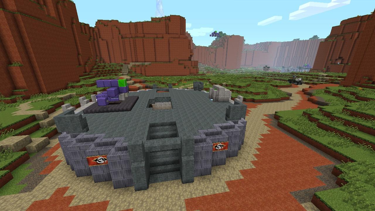 Minecraft Xbox 360 Halo DLC Screenshots Are A Trip Through History