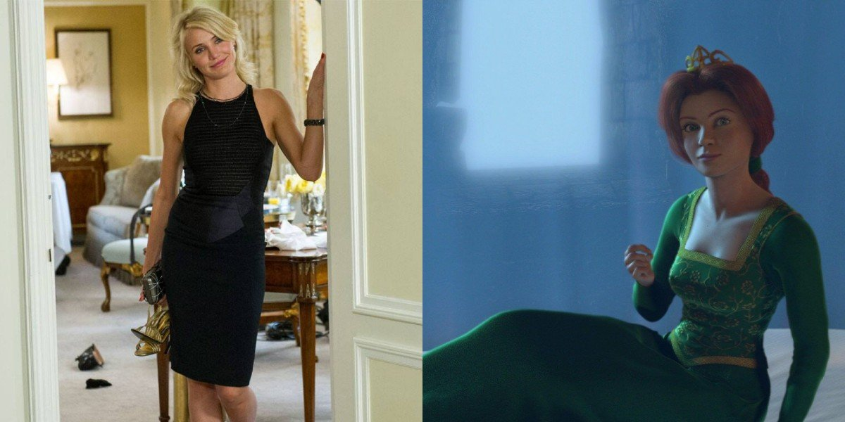 Cameron Diaz - The Other Woman/ Fiona from Shrek