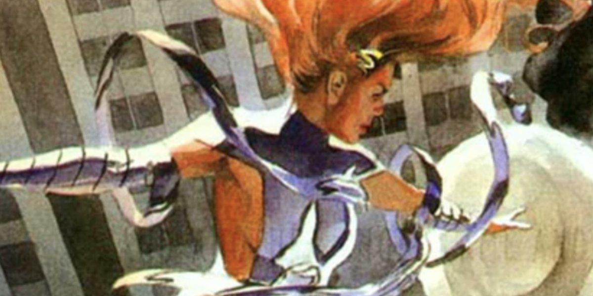 Maxine Hunkel is Red Tornado II
