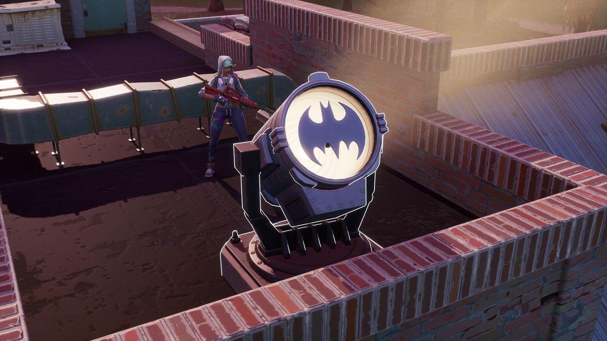 Fortnite Bat Signal
