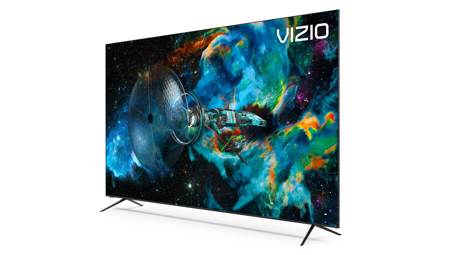 A promotional image demonstrating the screen of the Vizio P-Series Quantum X