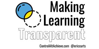 Making Learning Transparent - Finding, Making, and Using Transparent Images for Learning