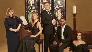 Songs of Praise 60th anniversary presenters