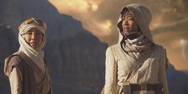 Michelle Yeoh Sonequa Martin-Green Star Trek: Discovery