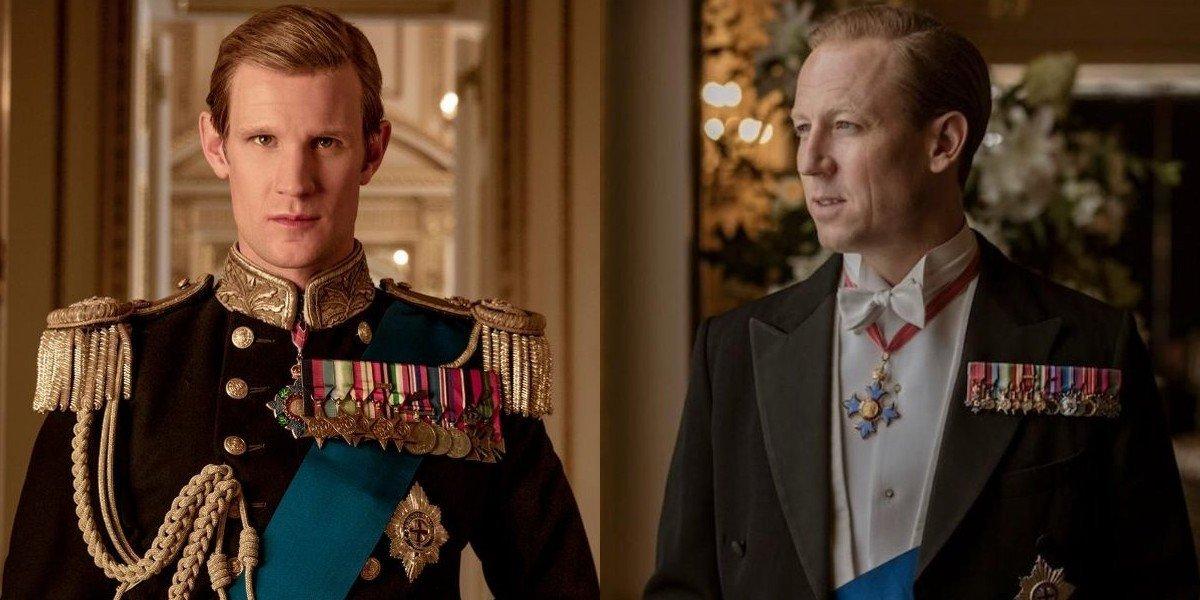 Prince Philip The Crown Matt Smith Tobias Menzies