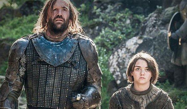 The Hound and Arya Stark, Game of Thrones